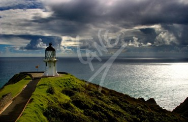 NEW ZEALAND Cape Reinga Lighthouse
