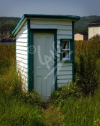 New Bonaventure outhouse