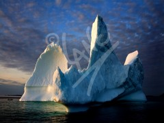 Twillingate, triple tower iceberg