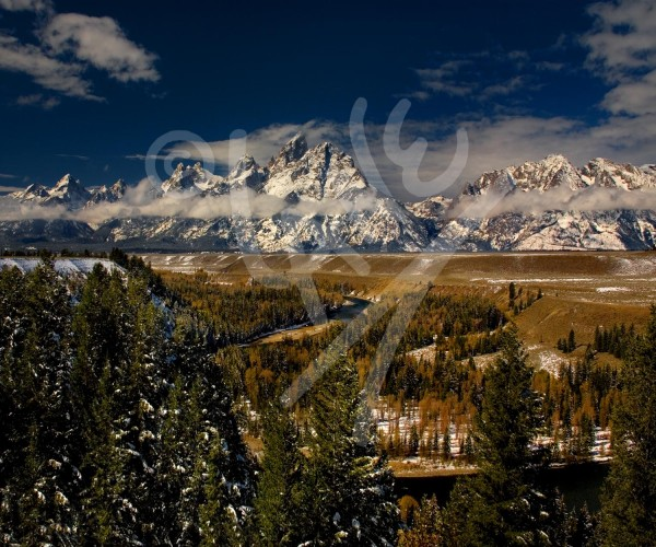 WYOMING Snake River and Grand Tetons