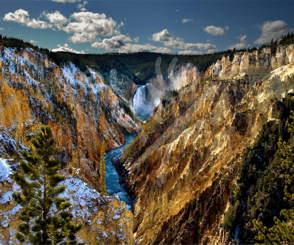 WYOMING Grand Canyon of the Yellowstone