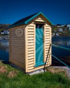 Greenspond outhouse