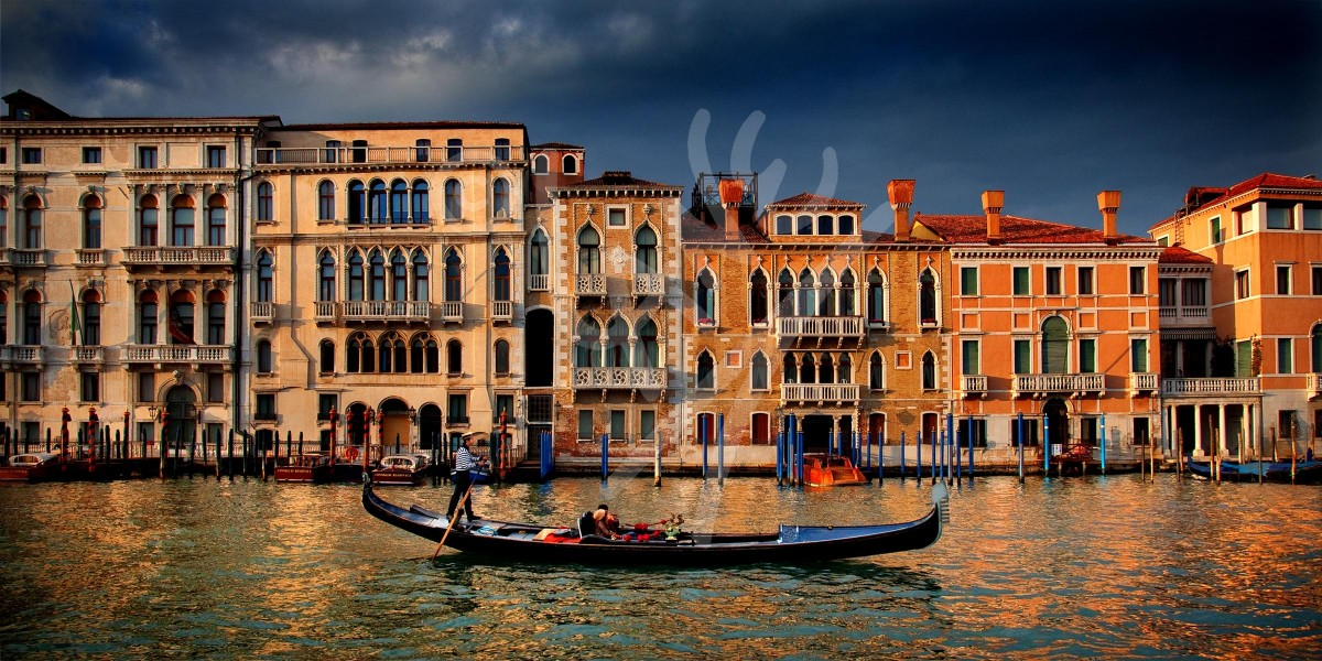 ITALY Venice, The Grand Canal