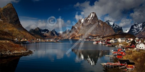 NORWAY Reine, Lofoten