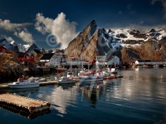 NORWAY Hamnoya, Lofoten Islands