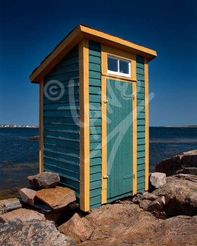 Joe Batt's Arm outhouse