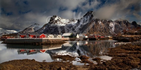 NORWAY Svolvaer, Lofoten Islands