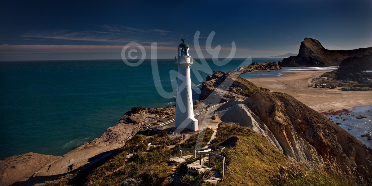 NEW ZEALAND Castle Point Lighthouse