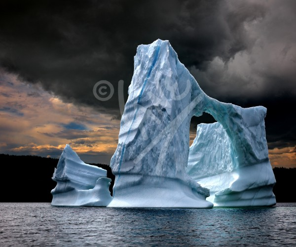 Wild Bight iceberg south