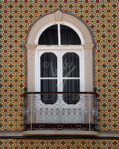PORTUGAL Tavira window