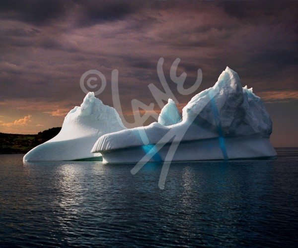 Twillingate, iceberg in blues